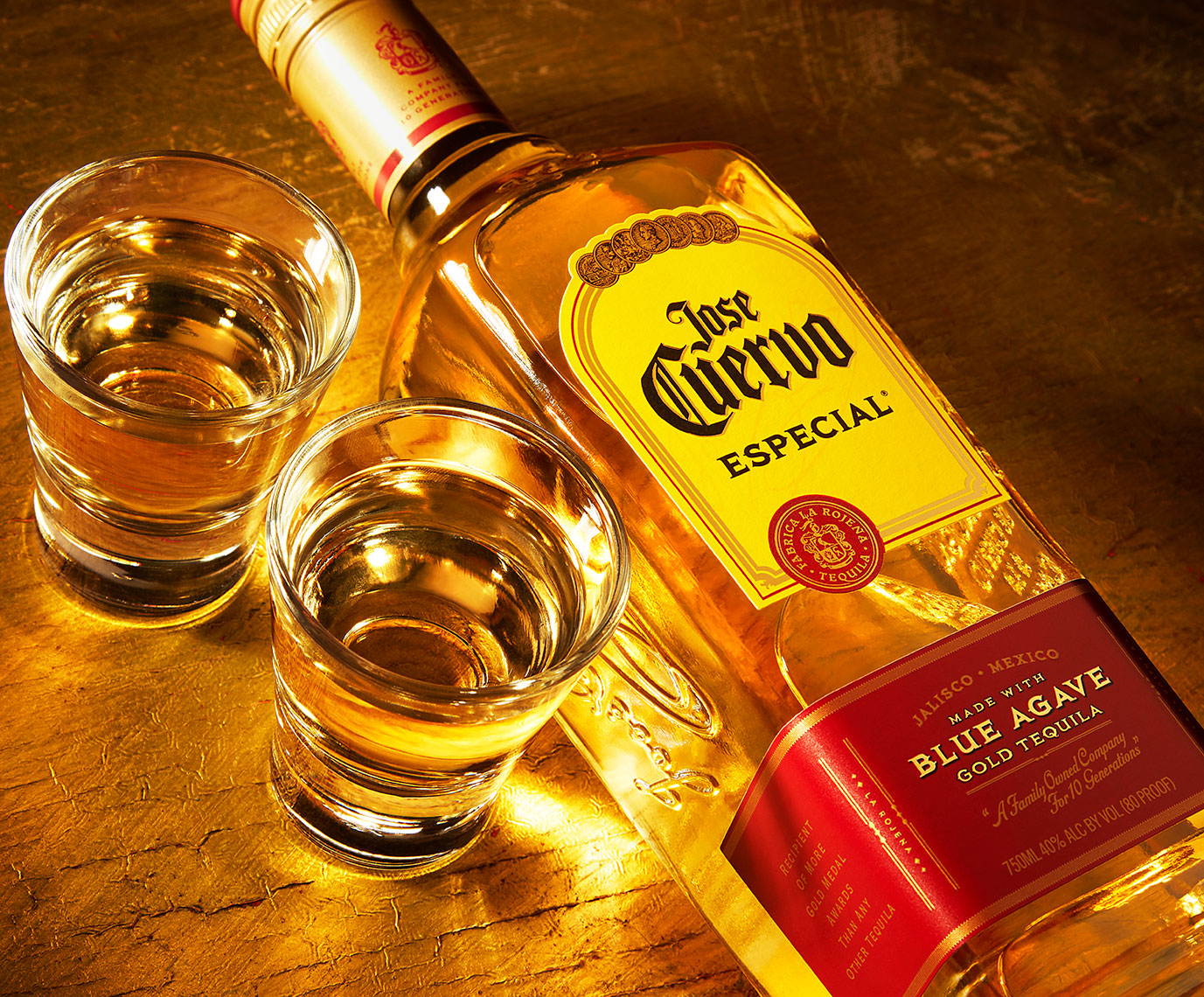 Red Productions Product & Still Life Photography Jose Cuervo Especial Blue Agave Gold Tequila