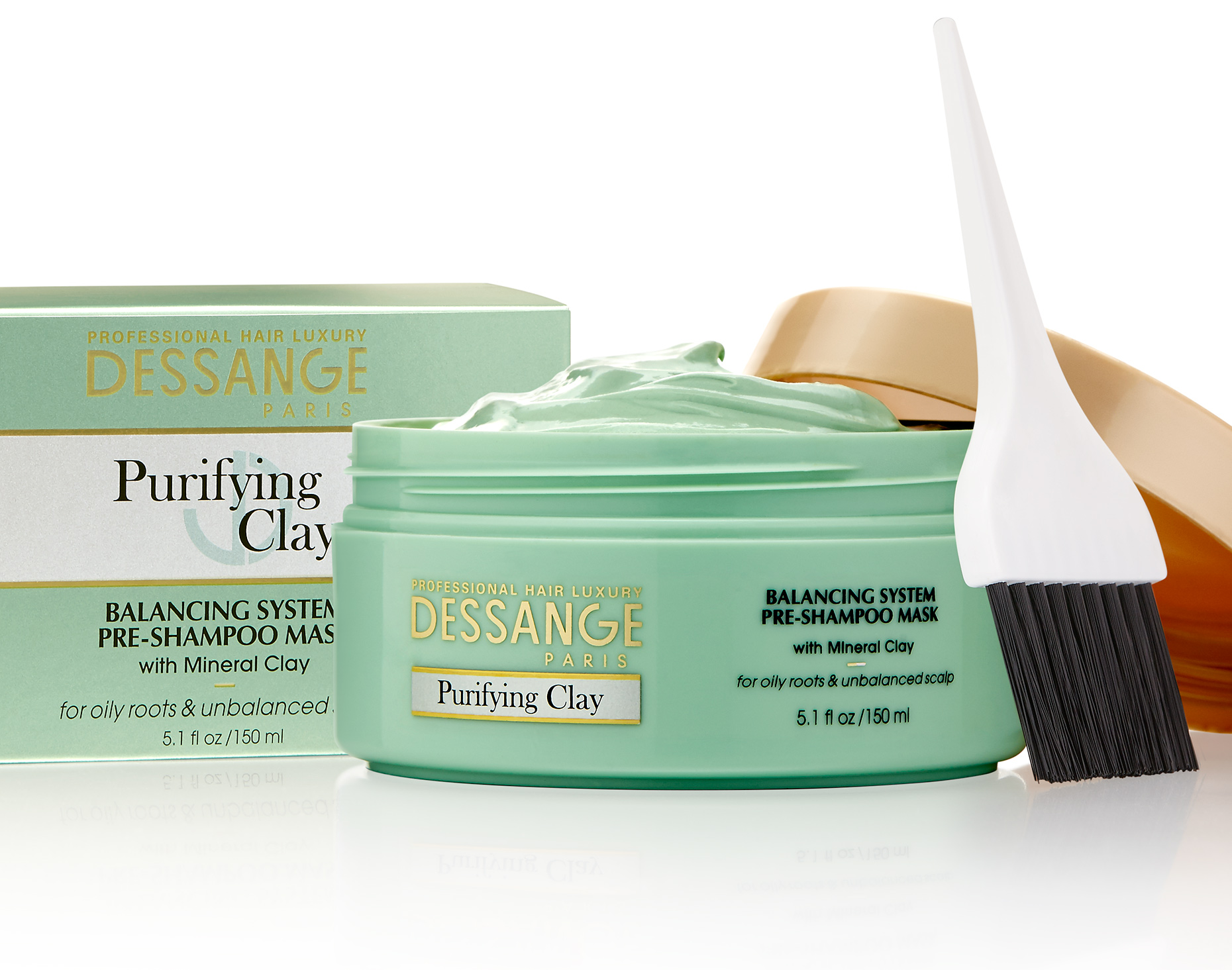 Red Productions Product & Still Life Photography Dessange Purifying Clay Pre-Shampoo Mask