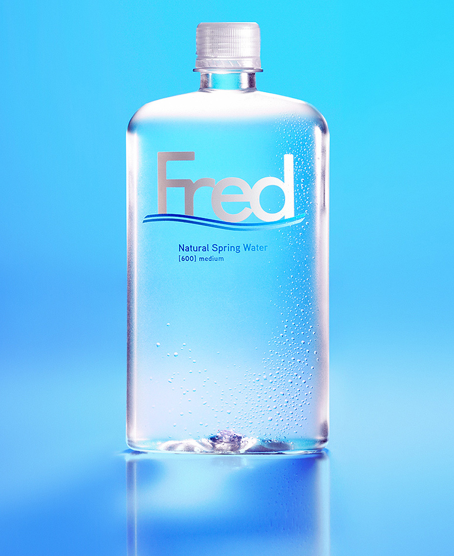 Red Productions Product & Still Life Photography Fred Natural Spring Water