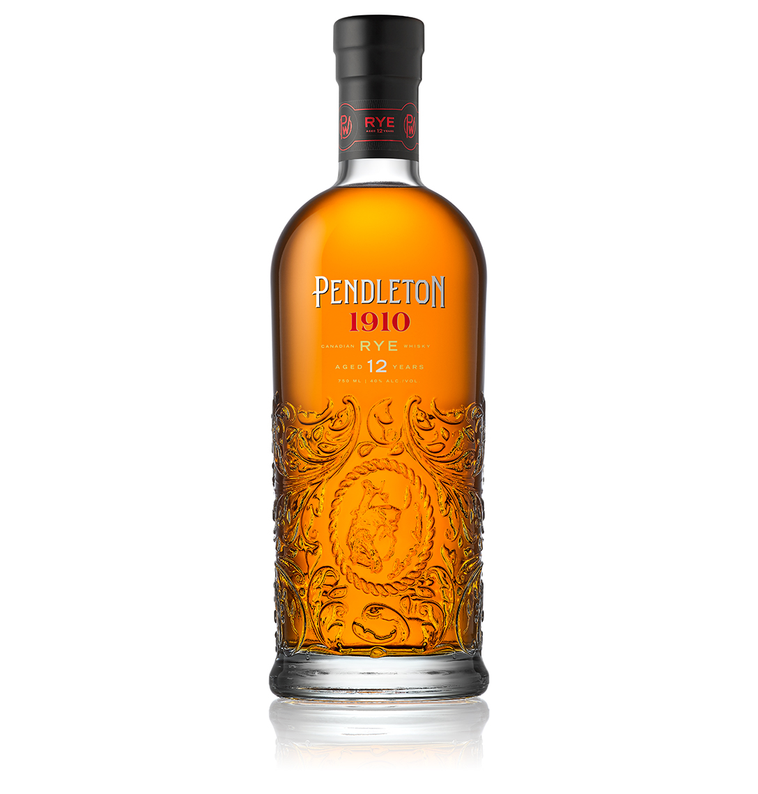 Red Productions Product & Still Life Photography Pendleton 1910 Canadian 12 Year Rye Whiskey