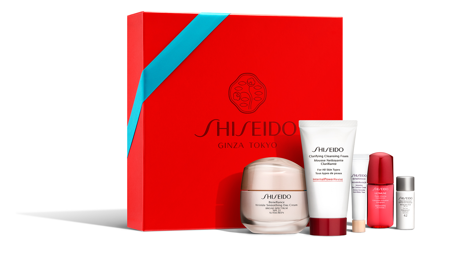 Red Productions Product & Still Life Photography Shiseido Skincare Gift Set