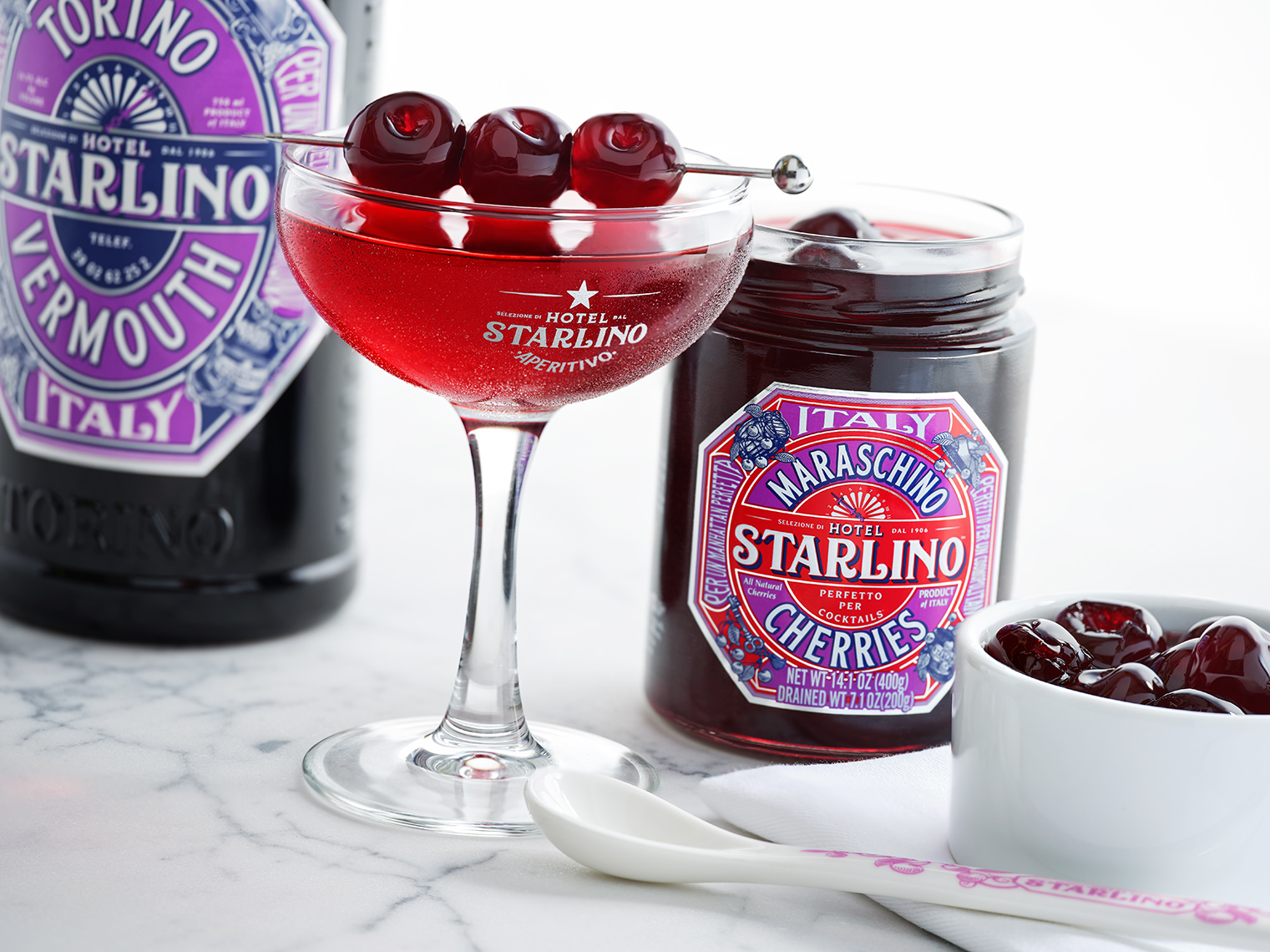 Red Productions Product & Still Life Photography Starlino Maraschino Cherries