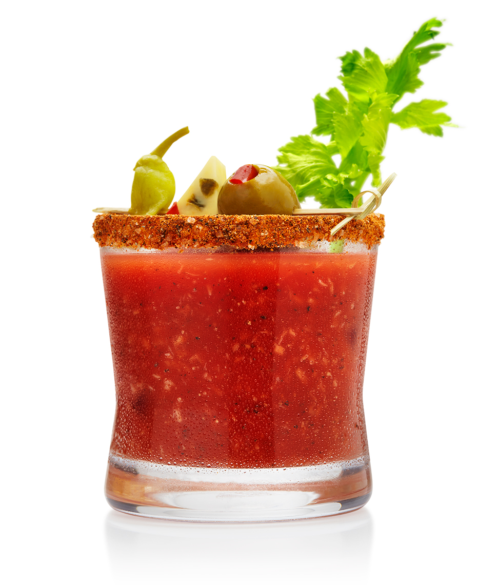 Red Productions Product & Still Life Photography Three Olive Vodka Bloody Mary